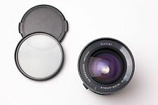 Vivitar 28mm f/2.5 Auto Wide-Angle Lens by Kino Olympus OM Caps & Filter (#2200)