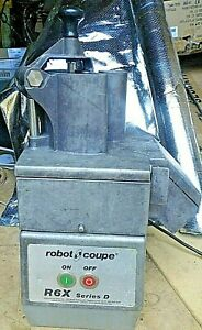 Robot Coupe R6X Commercial Food Processor
