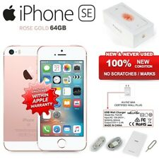 "New Factory Unlocked APPLE iPhone SE Rose Gold 64GB 4"" IPS 4G iOS Mobile Phone"