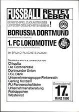 17.03.1990 1. FC Lok Leipzig - Borussia Dortmund, Alte Herren