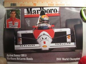 MARLBORO FORMULA ONE DRIVER POSTERS from England. RARE!!!!!!!  7 of them!