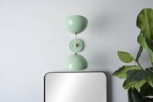 Modern Wall Light Brass Bathroom Wall Sconce Industrial Mid Century Vanity Light