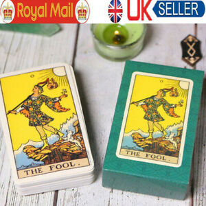 Tarot Card Deck Card Rider Learning Set And Manual Complete Sealed Card UK F