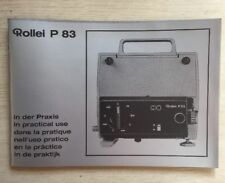 Rollei P 83 In Practical Use Manual, Instruction Book Genuine Original