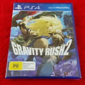ps4 GRAVITY RUSH 2 Game NEW & Sealed REGION FREE PAL Version PS5 Compatible