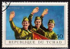 République du TCHAD - 1972 - Soyouz 11 - Poste aérienne N° 106 oblitéré