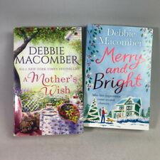 2 Debbie Macomber Books Bundle A Mother's Wish, Merry and Bright