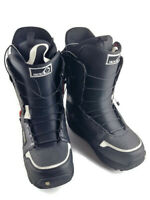 BURTON Moto Imprint 1 Men's size 13 Black/White Snowboard Boots Speed Zone