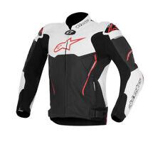 Alpinestars Atem Mens Leather Jacket Black/white/red 56 EUR