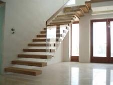 Kragarmtreppe Massiv Holz Eiche Natur lackiert Qualität 1 A