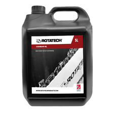 More details for rotatech iso 100 5l universal chainsaw chain & bar oil for all makes & models