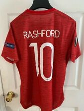 Men's adidas Rashford Europa League Manchester United 2020/21 Authentic Jersey