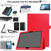Case For Lenovo Tab M10 TB-X505F TB-X605F TPU Leather Magnetic Stand Smart Cover