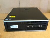 HP 8300 SFF Core i5 3470 4 x 3.20GHz 4GB 500GB DVD PC Desktop