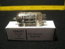 12AU7 ECC82 HP Amperex Vacuum Tube Tested on TV-7 D/U 56/92-85 Made in Holland