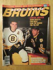 1993-94 BOSTON BRUINS Yearbook ADAM OATES CAM NEELY RAY BOURQUE GLEN WESLEY