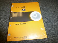 John Deere Model 410e Backhoe Loader Parts Catalog Manual Book Apr 98 Pc2575