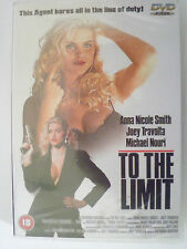 TO THE LIMIT starring Anne Nicole-Smith, Joey Travolta - NEW (TU1) {DVD}