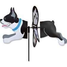 "Boston Terrier 16"" Whirligig Petite Staked Wind Spinner..10.... PR 26562"