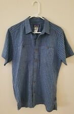 Patagonia Men's Organic Cotton Short Sleeve Button Down Shirt (Size Medium)