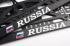 Россия RUSSIA Rossiya 3D KENNZEICHENHALTER NUMMERNSCHILDHALTER Euro standart