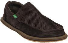 Sanuk Brown Trailgater Mesh Sidewalk Surfer Shoes Mens US 10/ EUR 43