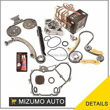 Timing Chain Balance Shaft Kit Water Pump Fit 00-11 Saturn Chevrolet Pontiac 2.2