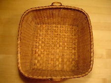 Antique American Splint Basket with 2 Small Handles