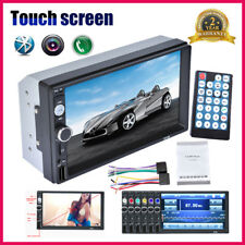 "2 Din 7"" Autoradio Touch Radio Car Stereo Bluetooth MP3 MP5 Player AUX USB TF FM"