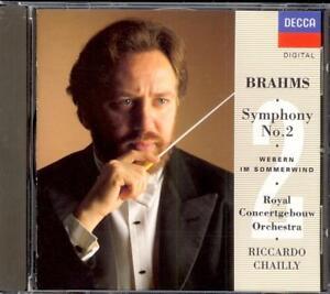 BRAHMS - Symphony 2 / WEBERN - Im Sommerwind - Riccardo CHAILLY - Decca WG PDO
