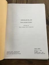 "Scarecrow and Mrs. King TV show script - ""Murder Between Friends"""