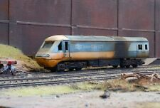 OO gauge scrapyard Inter City 125 HST diesel Loco, heavily rusted & weathered