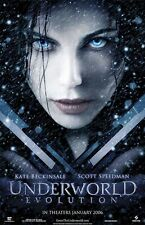 UNDERWORLD EVOLUTION ~ ADVANCE ORIGINAL 27x40 MOVIE POSTER Kate Beckinsale
