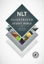 Illustrated Study Bible NLT (2015, Hardcover)
