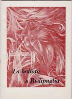 La ballata di Redipuglia, poesia, Marco Manfrin, 1965, poesia italiana