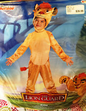 Disguise Inc. Disney Kion The Lion Guard Halloween Costume Toddler Size 3+ New!