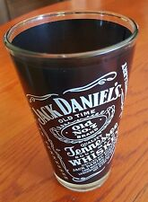 """Jack Daniels old No. 7 Tennessee Sour Mash Drinking Glass  Jack's Birthday """"NEW"""""""