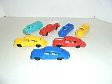 Renway,Ideal,Wannatoy Lot Of Plastic Cars & Trucks Very Nice Condition Vintage