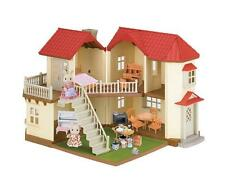 Calico Critters Town Home House Play Set Luxury Kids Toys 50 + Pieces Gift New