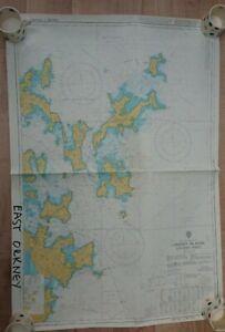 Nautical Navigation Admiralty Sailing Chart 2250