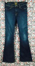 LUCKY BRAND Women's Charlotte Kick Flare Blue Jeans Size 00/25 Made in Mexico