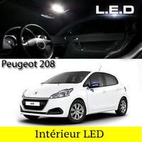 LED Innenraumbeleuchtung Beleuchtung Set / 12 led Glühbirnen für Peugeot 208