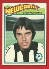 TOPPS FOOTBALLERS 1978 - ORANGE BACK TRADE CARD 297 - GRAHAM OATES  (OK03)