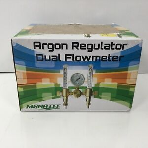 Manatee, Argon Regulator Dual Flowmeter