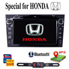 "for HONDA CRV 2007 2011 GPS Navigation 8"" Car Stereo DVD Player Radio Rear CAM"