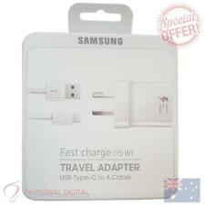 Genuine Samsung Fast Charging Travel Adapter (includes Type-C cable)(5V/9V) - Wh