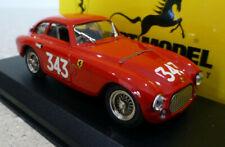 1/43 ART MODEL Ferrari 166MM Mille Miglia 1951 #343 Red. Mint, boxed. ART010