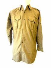 Canadian Army Korean War Other Ranks Wool Shirt 1952 Dated Size 15 inch Neck