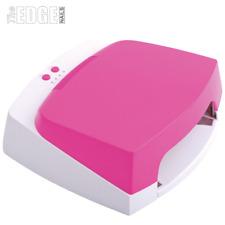 The Edge Nails Professional PINK 36W UV Gel Lamp 1/2/3 Min Timer 4 x Bulbs