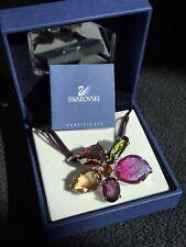 Swarovski Original Schmuck Kette Blume Bunt Ashling Nr.872244 38cm Neu DMUL/RHS